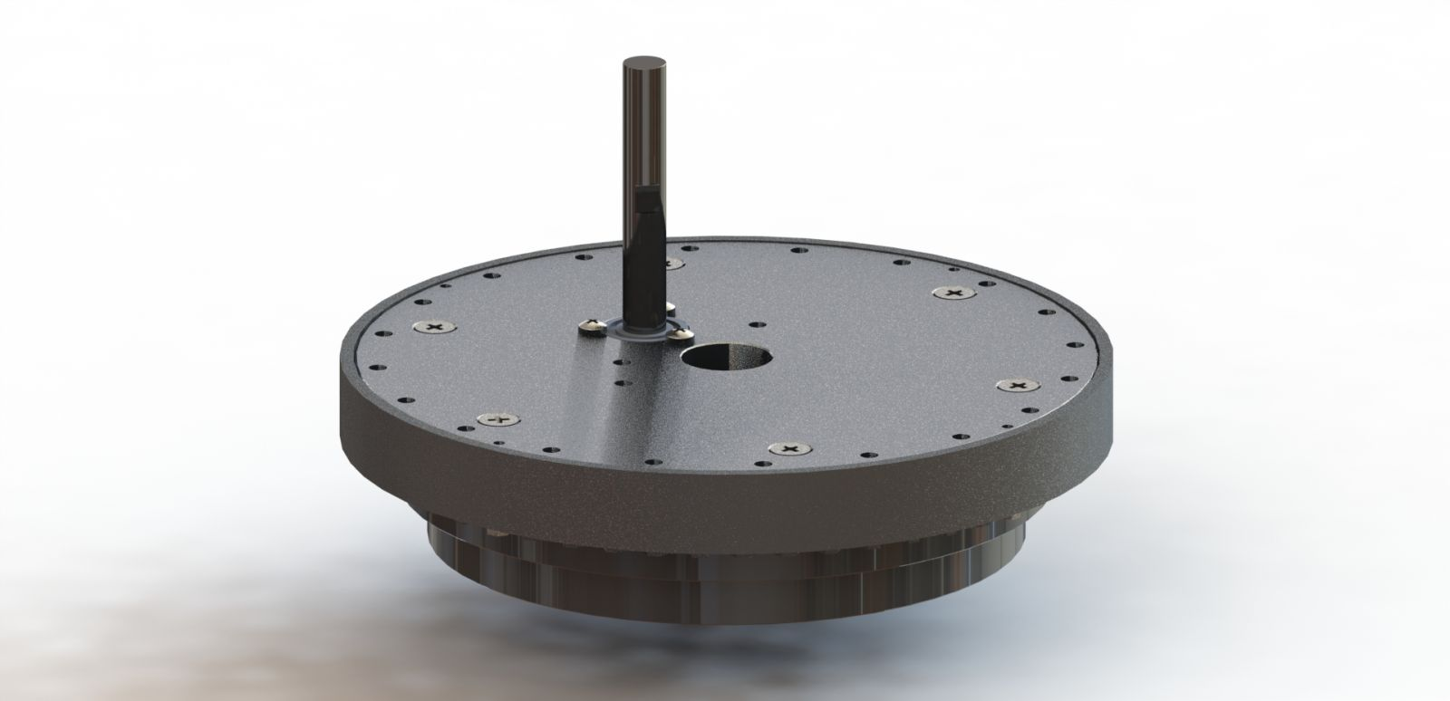 Slewing ring with slip ring