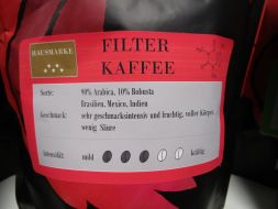 Filter coffee house brand, 250g