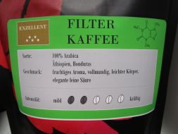 Filter coffee natural, 250g